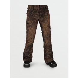 Volcom Aston Gore-tex leopard 2021 pantalon de snowboard de mujer