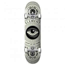 """Element Light Up The Dark 8"""" skateboard completo"""