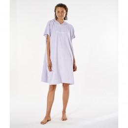 Rip Curl Script hooded towel lilac poncho de mujer