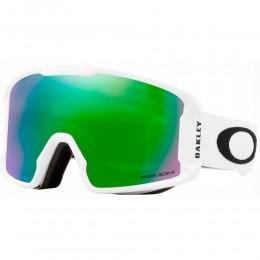 Oakley Line Miner XM Matte white prizm jade 2021 gafas de snowboard