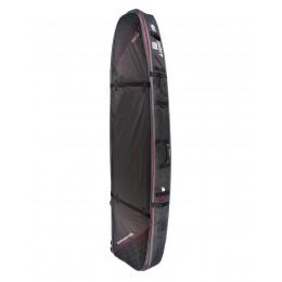 """Ocean & Earth Double wheel longboard black red 8.6"""" funda surf"""