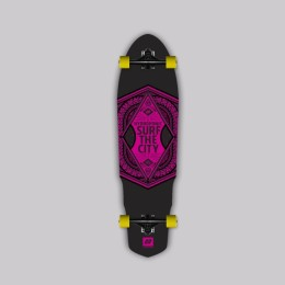 Hydroponic Surf the city 2.0 RED Longboard completo