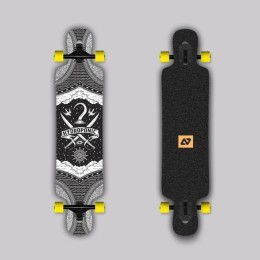 Hydroponic DT 3.0 PIRATE Longboard completo