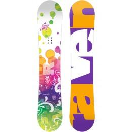 Raven Lucy tabla de snowboard de niña