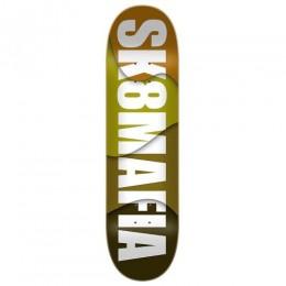 "Sk8mafia House logo Assorted Stains 8.25"" Tabla de skate"