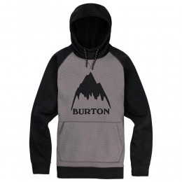 Burton Crown Bonded pullover heather black 2019 sudadera técnica de snowboard