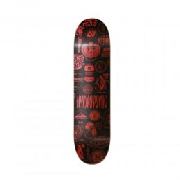 Hydroponic Metal rojo 8,375'' Tabla de skate