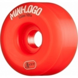 Mini logo awol a cut 66mm white Ruedas de skateboard