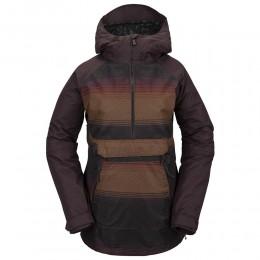 Volcom Mirror pullover stripe 2021 chaqueta de snowboard de mujer