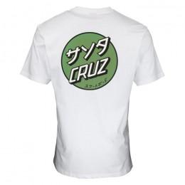 Santa Cruz Mixed Up Dot white 2022 camiseta