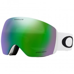 Oakley Flight Deck matte white Prizm jade iridium 2021 gafas de snowboard