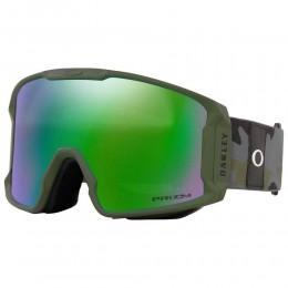 Oakley Line Miner Dark brush grey camo prizm jade 2021 gafas de snowboard