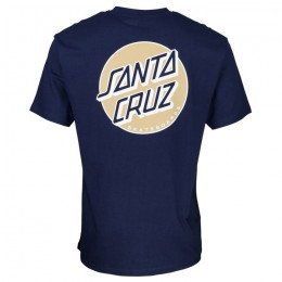 Santa Cruz Missing dot navy 2021 camiseta