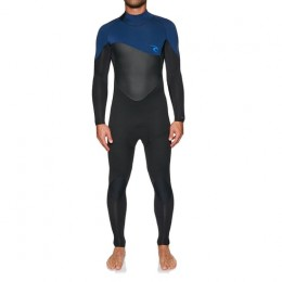 Rip Curl Omega back zip 4/3mm navy Traje de neopreno