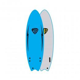 """Ocean Earth MR ezi rider 5'6"""" Blue softboard"""