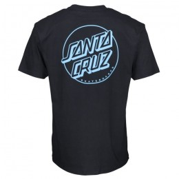 Santa Cruz Opus Dot Stripe black 2020 camiseta