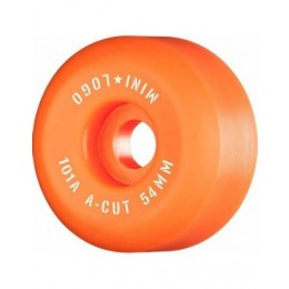 Mini logo A cut 54mm 101A orange Ruedas de skateboard