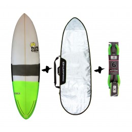 Full & Cas Hecke 6'4'' + funda + Leash Pack de sur