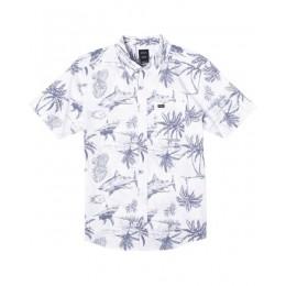 Rvca Panic Point antique white 2021 camisa