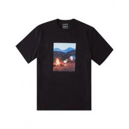Element Peanuts Adventure black 2021 camiseta