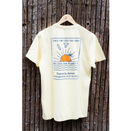 Humble Planet yelllow 2021 camiseta