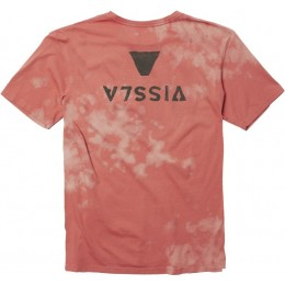 Vissla Capsized bleach wash plumeria 2021 camiseta
