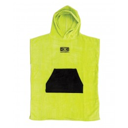 Ocean & Earth Toddlers lime poncho