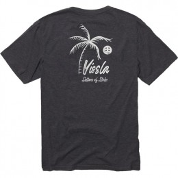 Vissla Porveyors black heather 2021 camiseta