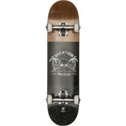 """Globe Por Vida Mid 7.6"""" brown black Skate completo"""