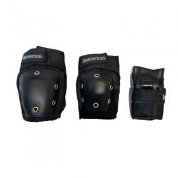 Industrial Pack black protecciones de skate