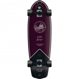 """Flying Wheels Best Place 31,5"""" purple surfskate completo"""