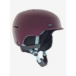 Anon Raven purple 2019 casco de snowboard de mujer