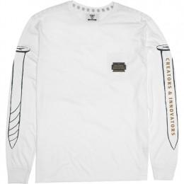 Vissla Razorblade white 2021 camiseta de manga larga