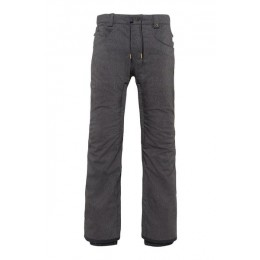 686 Rebel black denim 2021 pantalón de snowboard