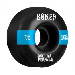 Bones 100´s #14 V4 53mm black Ruedas de skateboard