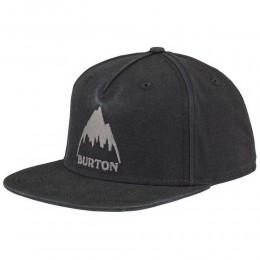 Burton Roustabout black 2021 gorra