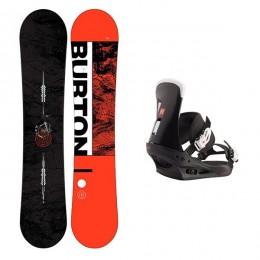 Burton ripcord wide + Burton freestyle 2020 Pack de snowboard
