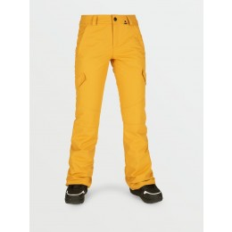 Volcom Bridger insulated resin gold 2021 pantalon de snowboard de mujer