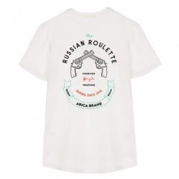 Arica Russian Roulette white 2022 camiseta