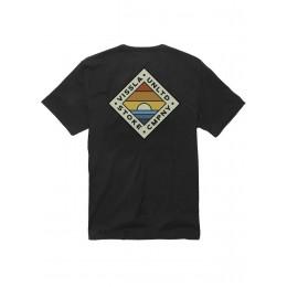 Vissla Beginning Premium organic black 2021 camiseta