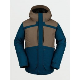 analog shoreditch negro 2016 chaqueta de snowboard