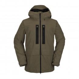 Volcom Stone gore-tex dark teak 2021 chaqueta de snowboard