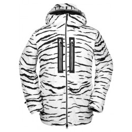 Volcom Stone gore-tex white tiger 2021 chaqueta de snowboard
