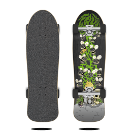 "Cruzade Holy Shit 9"" Skateboard completo"