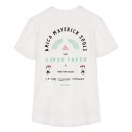 Arica Super Fresh white 2021 camiseta