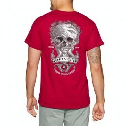 Rietveld Siren Skull Classic red 2021 camiseta