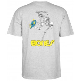 Powel Peralta Skateboard Skeleton grey 2020 camiseta