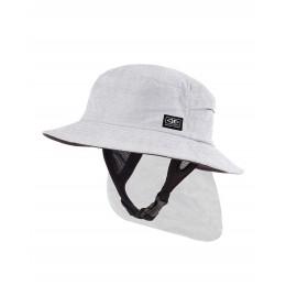 Ocean & Earth Indo Stiff Peak Surf Hat White