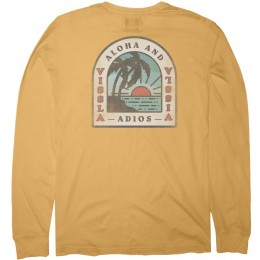 Vissla Adios Sunset golden hour 2020 camiseta de manga larga