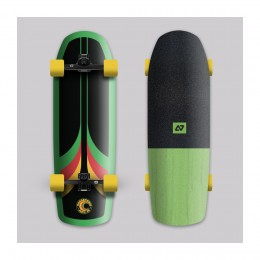 Hydroponic Surf 70´s verde Surfskate completo